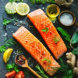 Pavé de saumon - (environ 500gr)