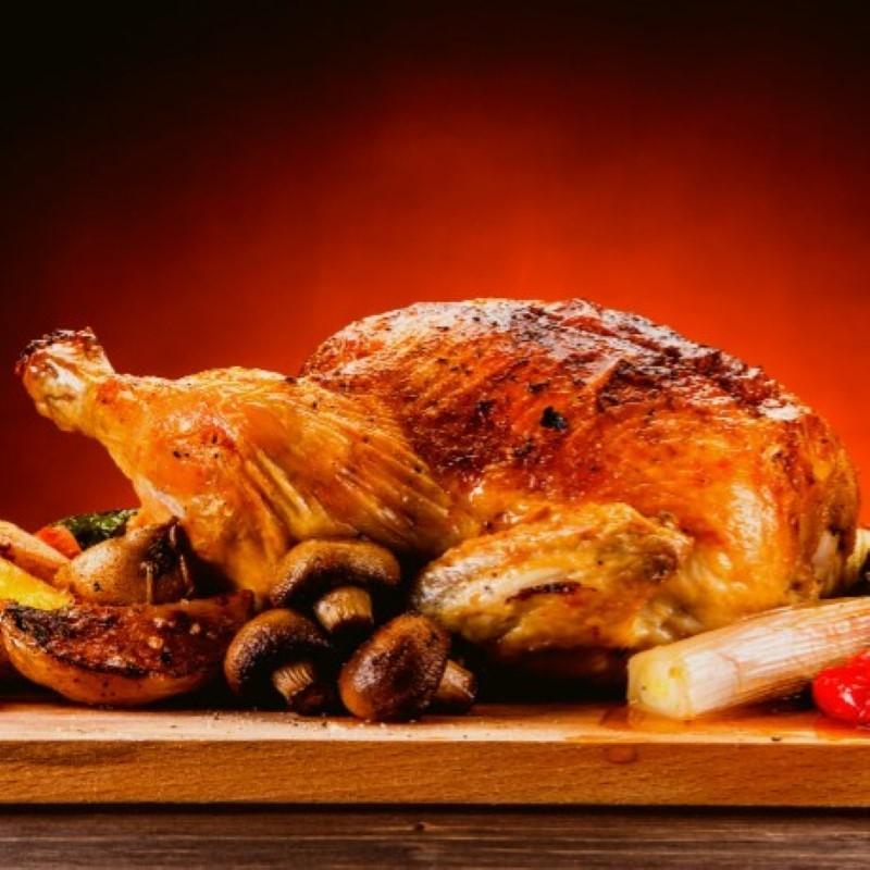 Poularde fermière - environ 2,3 à 2,7 kg