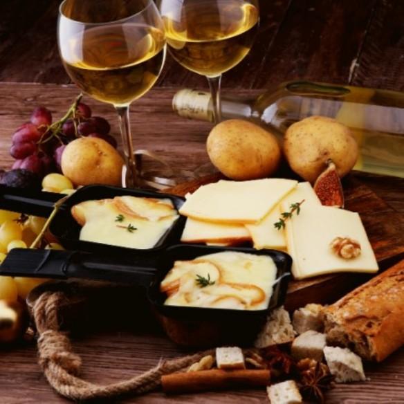 Raclette Lait Cru - pièce d'environ 1 kg